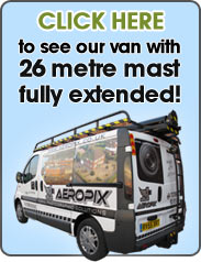 Take a look at our van with 26 metre mast fully extended.
